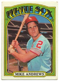 1972 Topps Baseball Cards      361     Mike Andrews